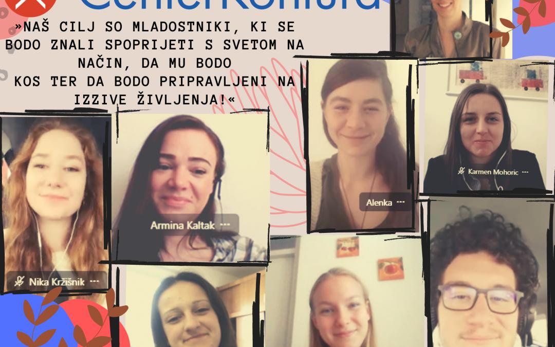 Mentorska skupina prostovoljcev iz Kranja