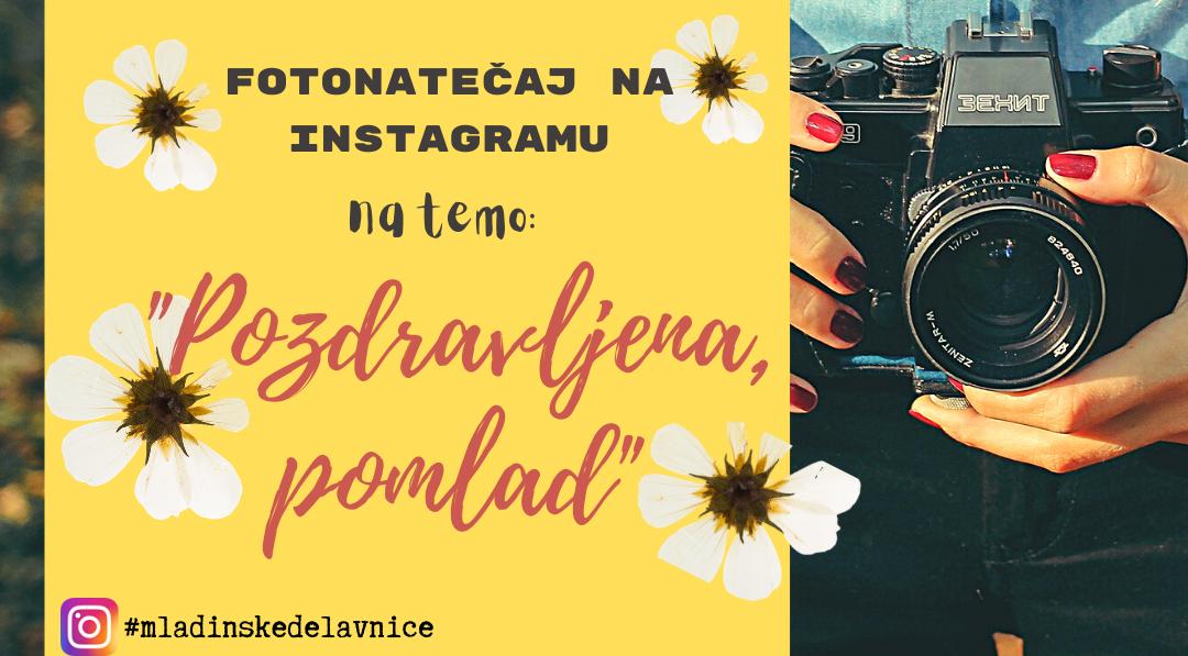 »Mladinske« tudi na Instagramu :)